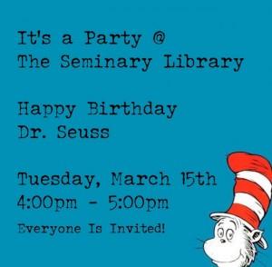 Seuss party